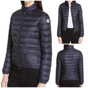 Moncler Lans Water Resistant Quilted Down Jacket 1